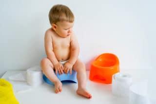 Barn tisser på potte. Urinveisinfeksjon?