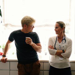 Svar på blodprøver - lege og pasient